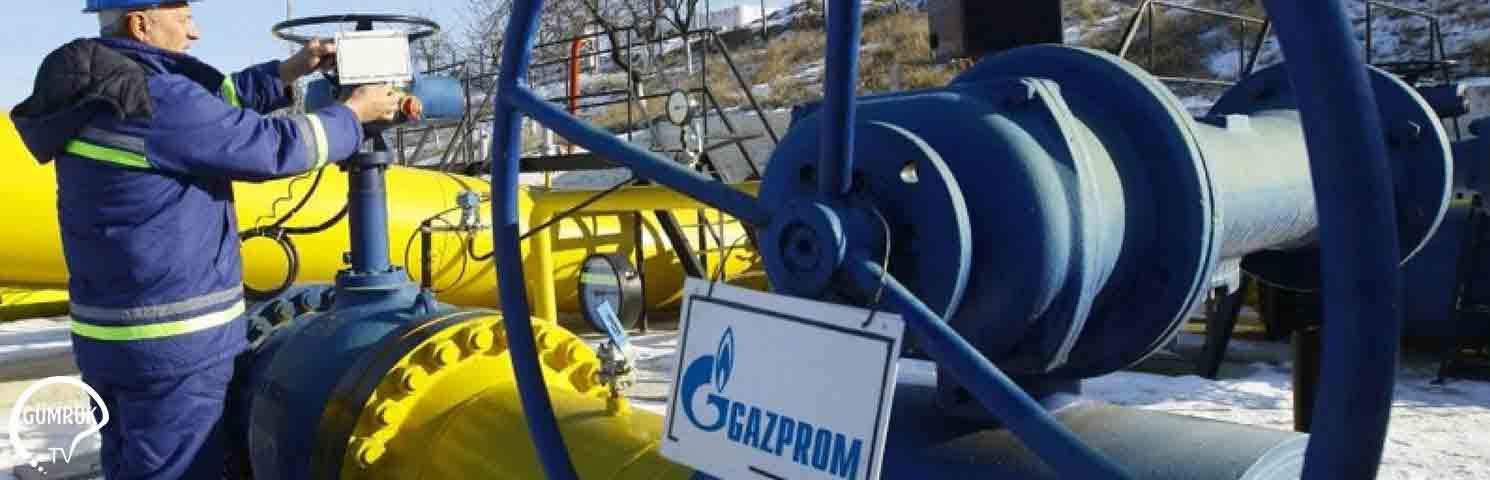 Gazprom'un Avrupa'ya Doğalgaz İhracatı Arttı