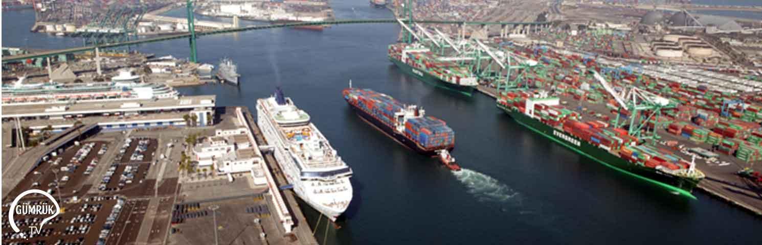 Los Angeles Limanı Gemi Trafiğine Kapatıldı
