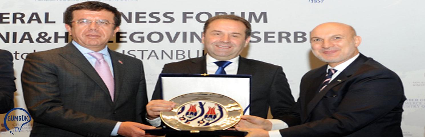 Türkiye-Sırbistan-Bosna Hersek Üçlü Ticaret Toplantısı