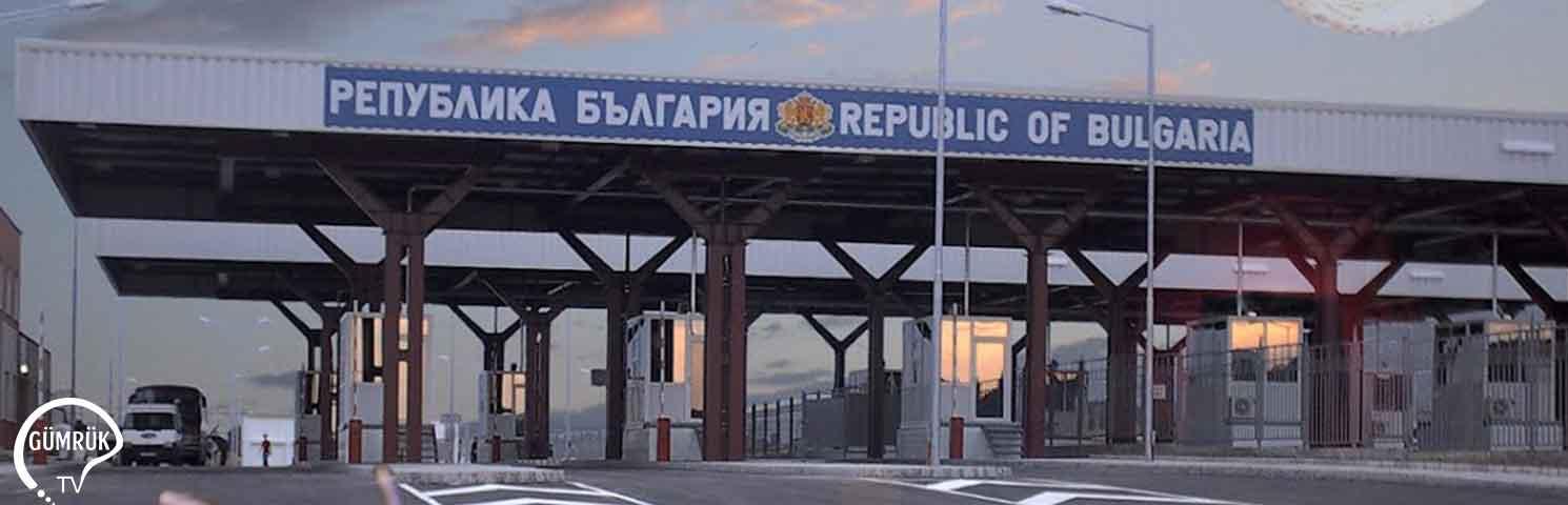 Bulgar Gümrükçülere Operasyon