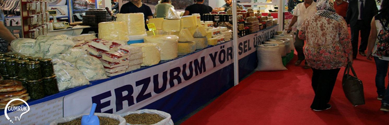 Erzurum'un En Değerli Ürünleri Fuarda Yerini Aldı