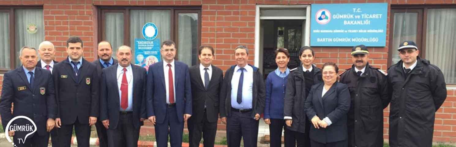 Doğu Marmara Gümrük ve Bölge Müdürü Musa Aydemir'in İnceleme Ziyaretleri