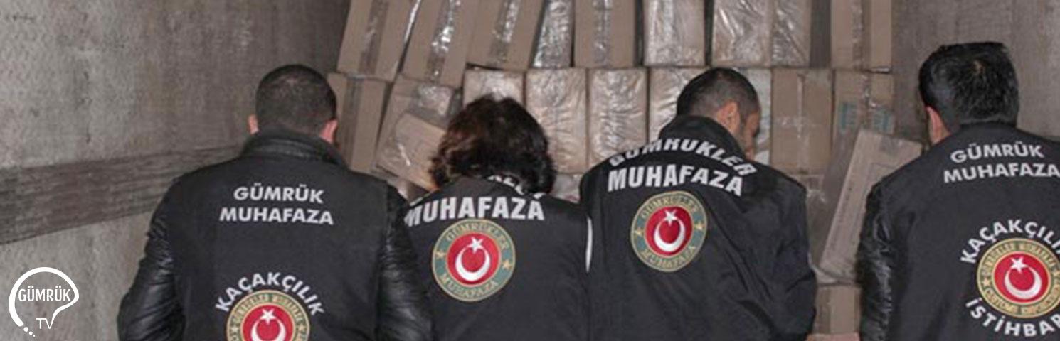 Gümrük Muhafaza Ekipleri 1,7 Milyar Liralık Kaçakçılığı Önledi