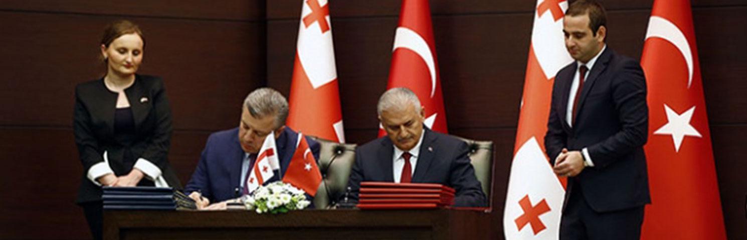 Türkiye ile Gürcistan Arasında 6 Alanda Anlaşma İmzalandı