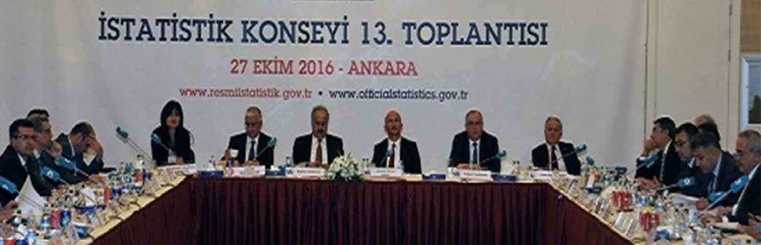 İstatistik Konseyi 13. Toplantısı Gerçekleştirildi