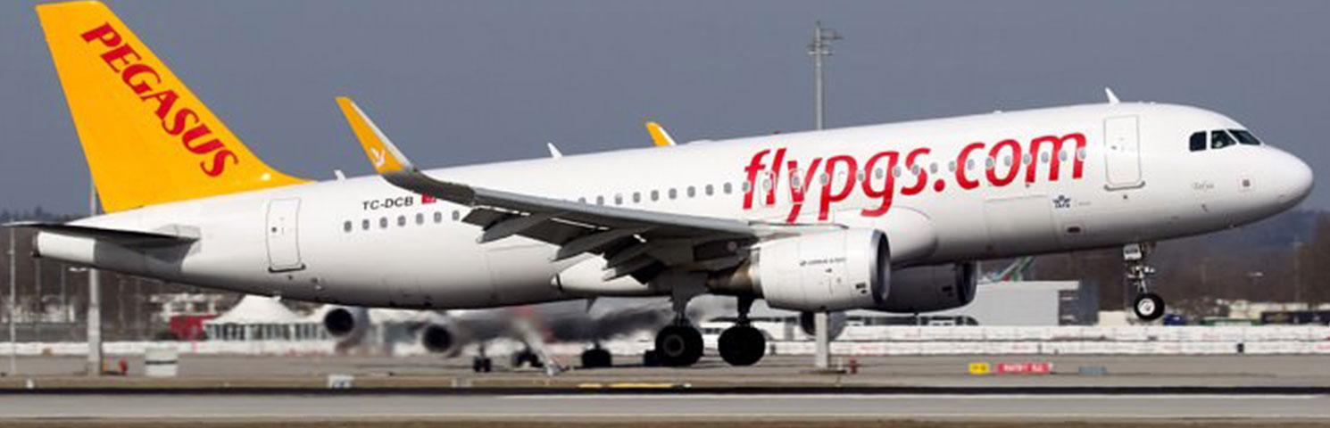 Pegasus'un İlk A320neo'su Sabiha Gökçen'e İndi