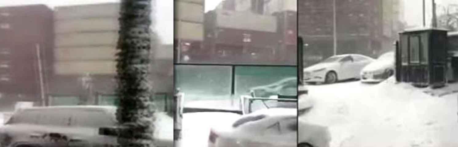 İstanbul Tarabya'da Bir Konteyner Gemisi Sahili Sıyırarak Geçti