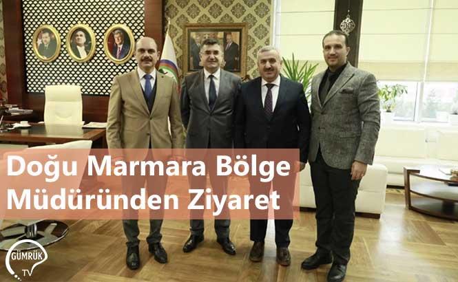 Doğu Marmara Bölge Müdüründen Ziyaret