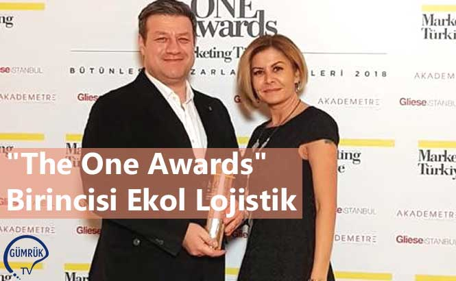 """The One Awards"" Birincisi Ekol Lojistik"