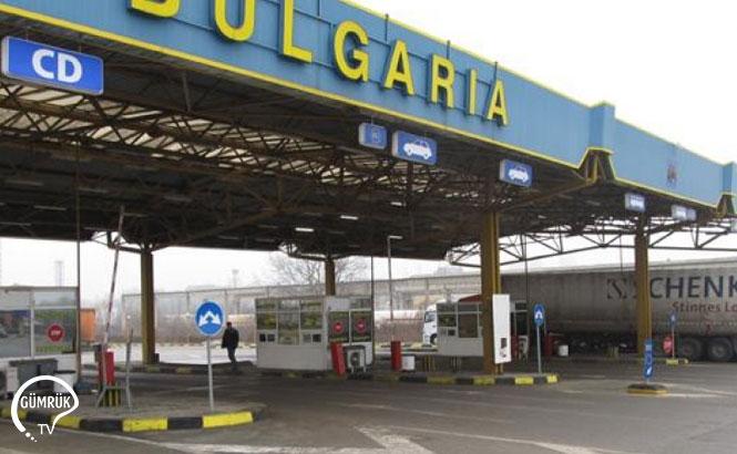 Bulgaristan Sınır Kapısında Araç Geçişi Durdu