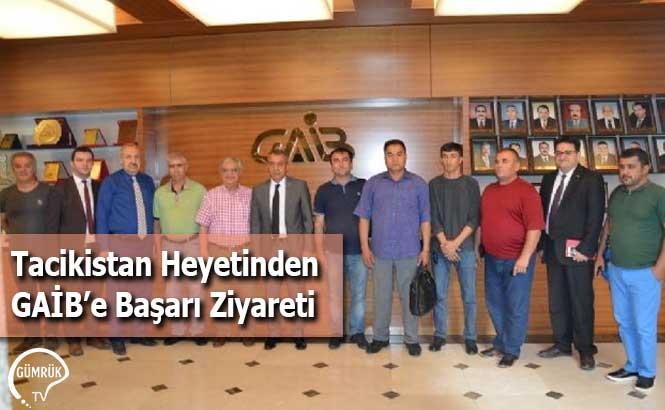 Tacikistan Heyetinden GAİB'e Başarı Ziyareti