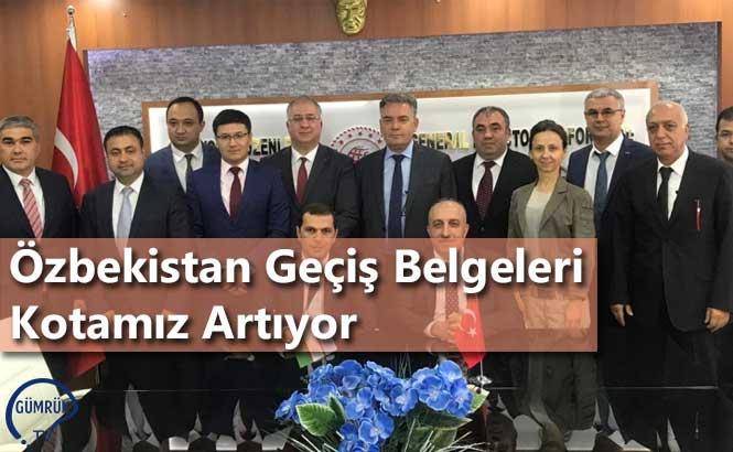 Özbekistan Geçiş Belgeleri Kotamız Artıyor
