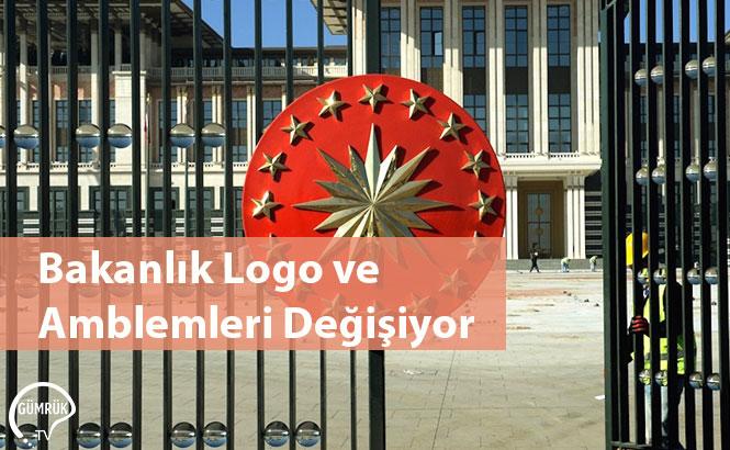 Bakanlık Logo ve Amblemleri Değişiyor