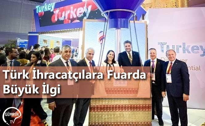 Türk İhracatçılara Fuarda Büyük İlgi