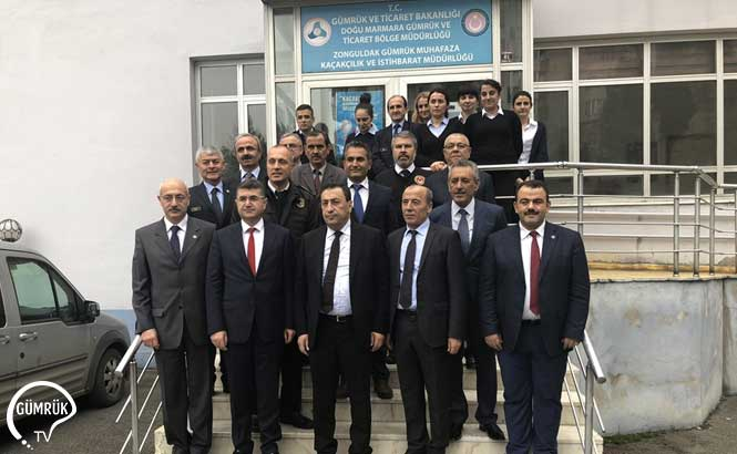 Gümrük ve Ticaret Bakanlığı Müsteşar Yardımcısı İsmail Yücel Zonguldak'ı Ziyaret Etti