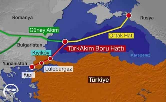 Türkakımı, 2020 Yılının İlk Çeyreğinde Türkiye Üzerinden Avrupa'ya 1.32 bcm'den Fazla Rus Gazı Taşıdı