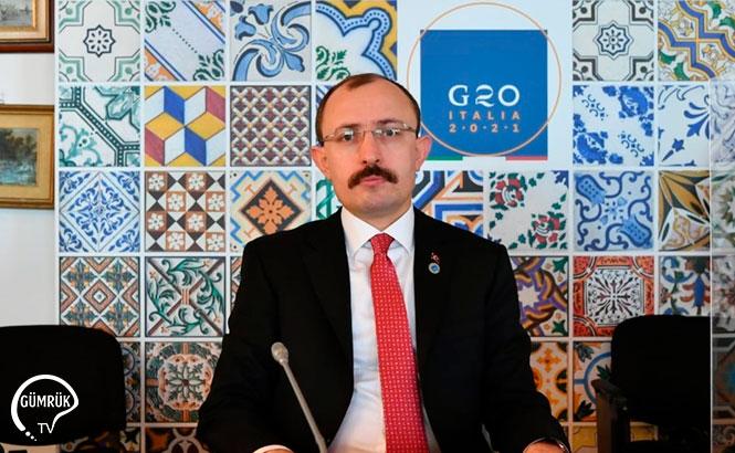"""Bakan Muş: """"Uluslararası Ticaret Gündemini G20'de Değerlendiriyoruz"""""""
