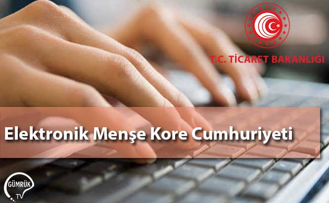Elektronik Menşe Kore Cumhuriyeti