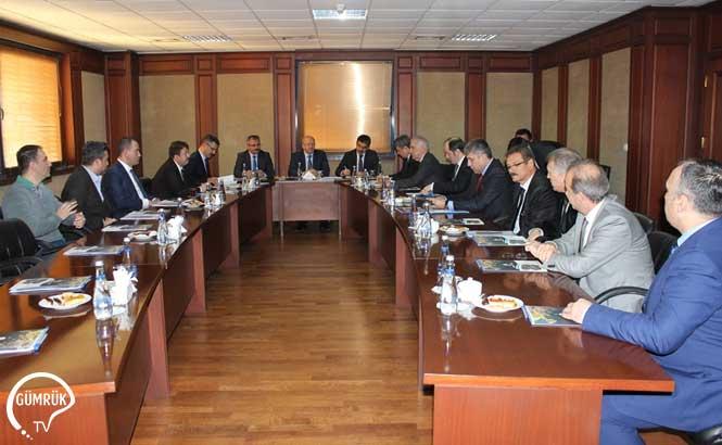 Gümrük Bakanlığı Üst Düzey Yöneticileri Tarafından Ambarlı Gümrük Müdürlüğü Ziyaret Edildi
