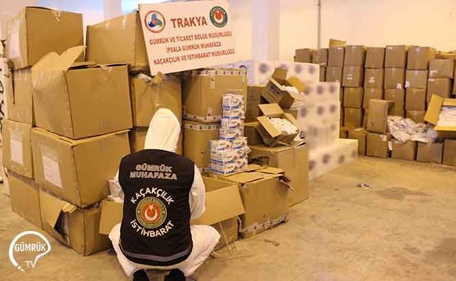İstanbul Havalimanı  Ve İpsala Gümrük Kapısında  Tıbbi Koruyucu Malzeme  Kaçakçılığı