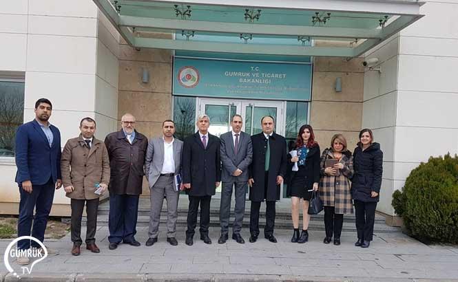 Filistin Heyeti Ankara Gümrük Müdürlüğü ve Ankara Lojistik Üssü'nü Ziyaret Etti