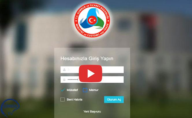Gümrük ve Ticaret Bakanlığı'ndan Get- App Kullanım Videoları