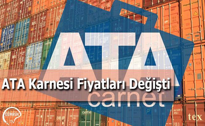 ATA Karnesi Fiyatları Değişti