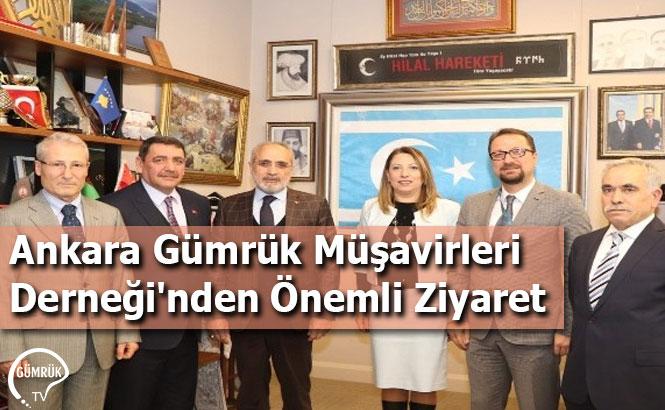 Ankara Gümrük Müşavirleri Derneği'nden Önemli Ziyaret