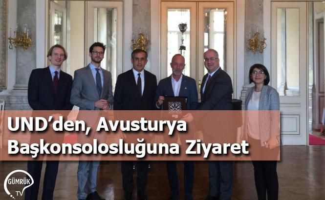 UND'den, Avusturya Başkonsolosluğuna Ziyaret