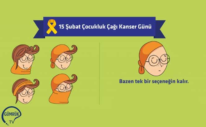 15 Şubat Çocukluk Çağı Kanser Günü