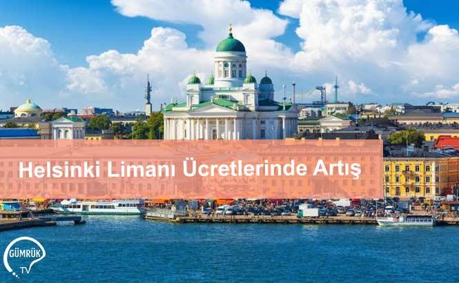 Helsinki Limanı Ücretlerinde Artış