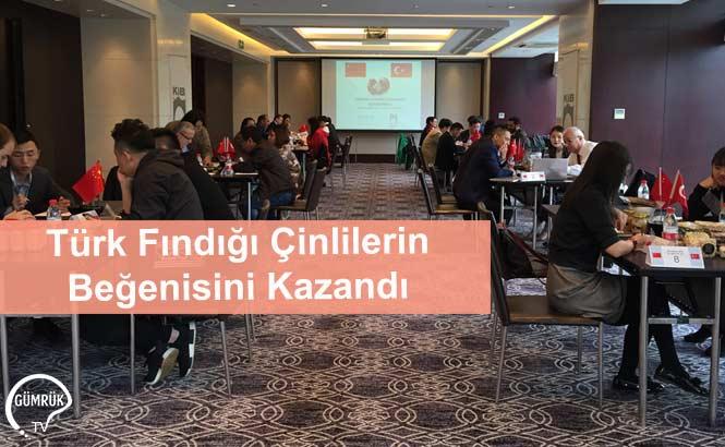 Türk Fındığı Çinlilerin Beğenisini Kazandı