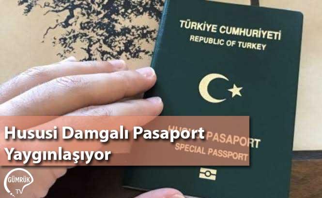 Hususi Damgalı Pasaport Yaygınlaşıyor