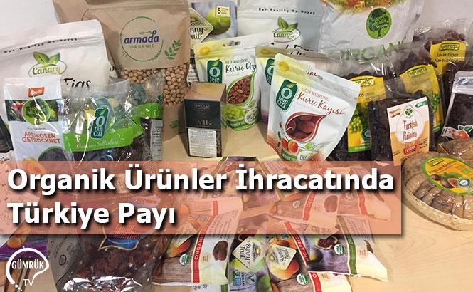 Organik Ürünler İhracatında Türkiye Payı
