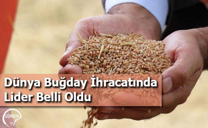 Dünya Buğday İhracatında Lider Belli Oldu