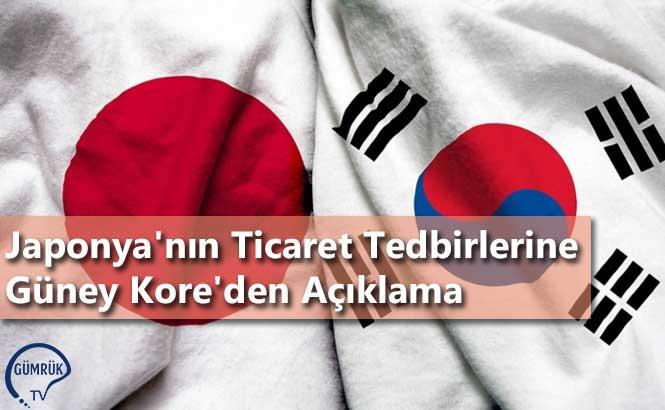 Japonya'nın Ticaret Tedbirlerine Güney Kore'den Açıklama