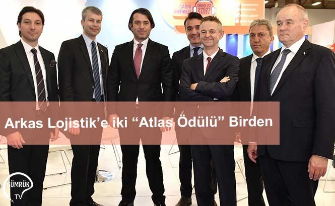 """Arkas Lojistik'e iki """"Atlas Ödülü"""" Birden"""