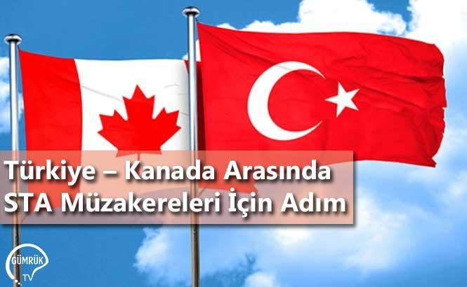 Türkiye – Kanada Arasında STA Müzakereleri İçin Adım