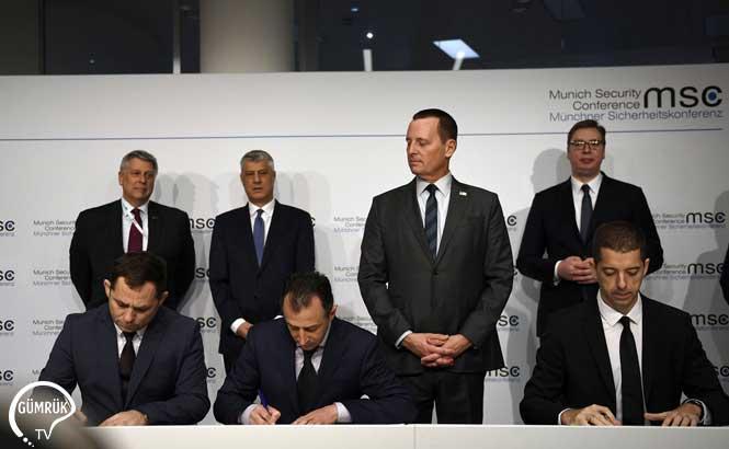 Kosova ve Sırbistan Demiryolu ve Otoyol Anlaşması İmzaladı