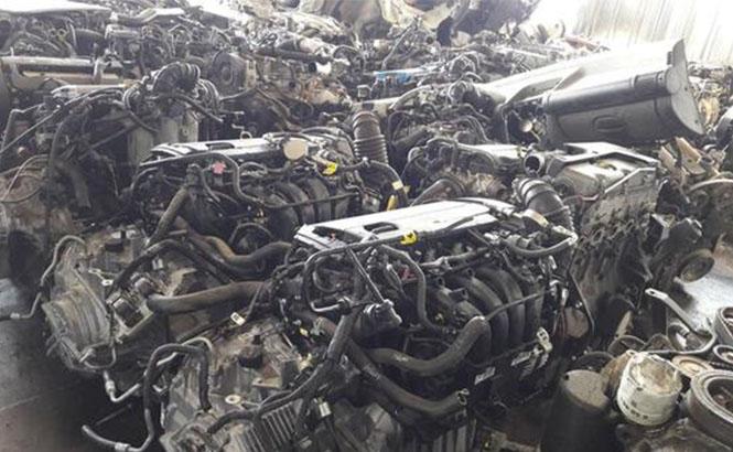 Gümrükten Kaçırılan Araç Motorları Ele Geçirildi