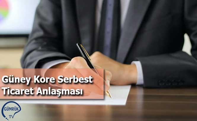 Güney Kore Serbest Ticaret Anlaşması
