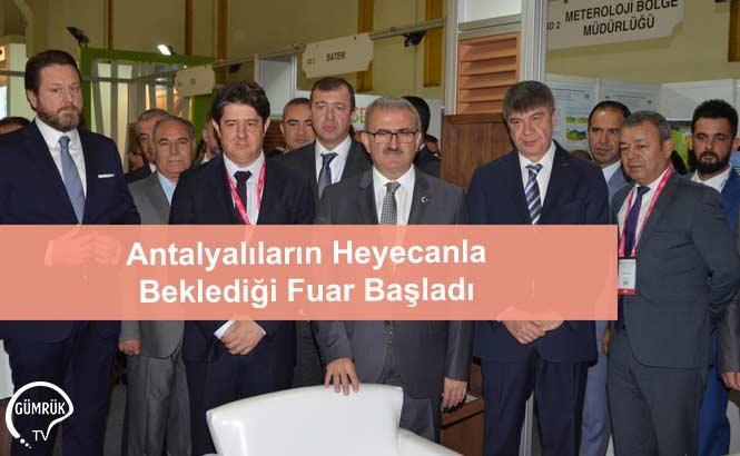 Antalyalıların Heyecanla Beklediği Fuar Başladı