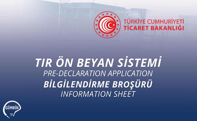 Transit ve TIR Sistemi Broşürleri