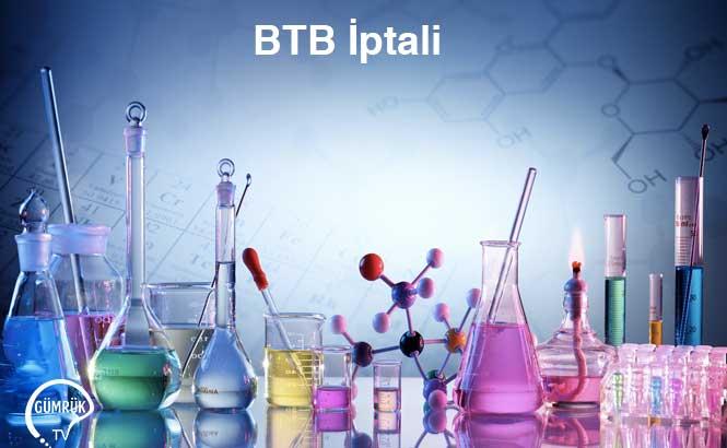 Soya Proteini Konsantresi BTB İptali