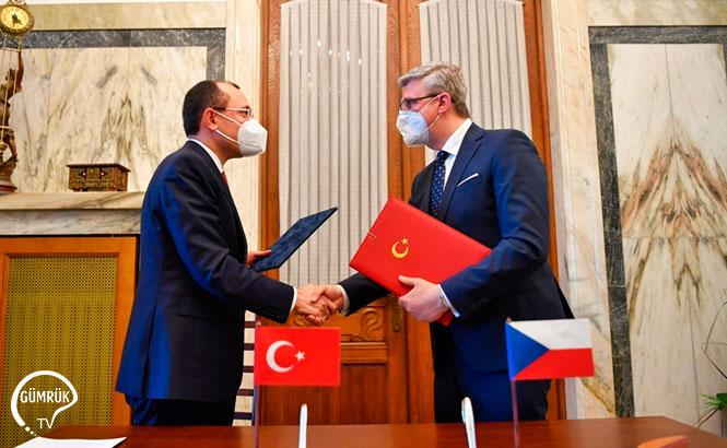 Türkiye-Çekya Arasında 'Ortak Ekonomi ve Ticaret Komitesi Kurucu Anlaşması' İmzalandı