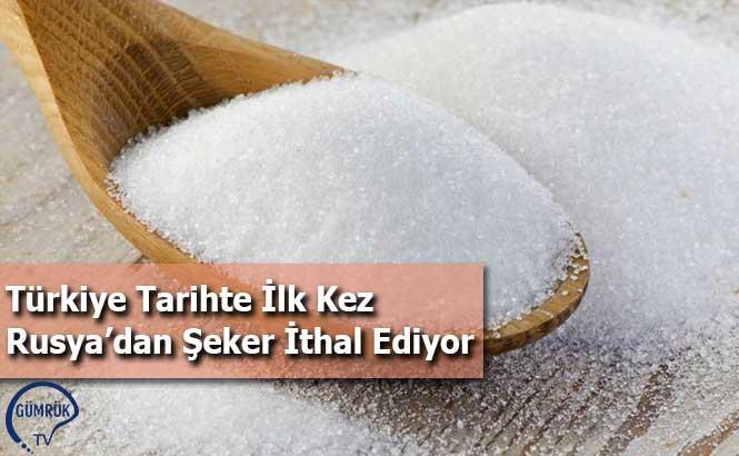 Türkiye Tarihte İlk Kez Rusya'dan Şeker İthal Ediyor