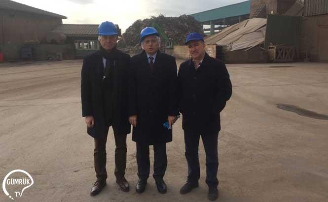 Batı Marmara Gümrük ve Ticaret Bölgeden Kaptan Demir Çelik Endüstrisi ve Ticaret A.Ş'ye Ziyaret