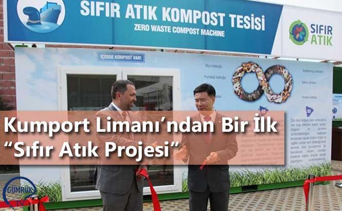 """Kumport Limanı'ndan Bir İlk """"Sıfır Atık Projesi"""""""