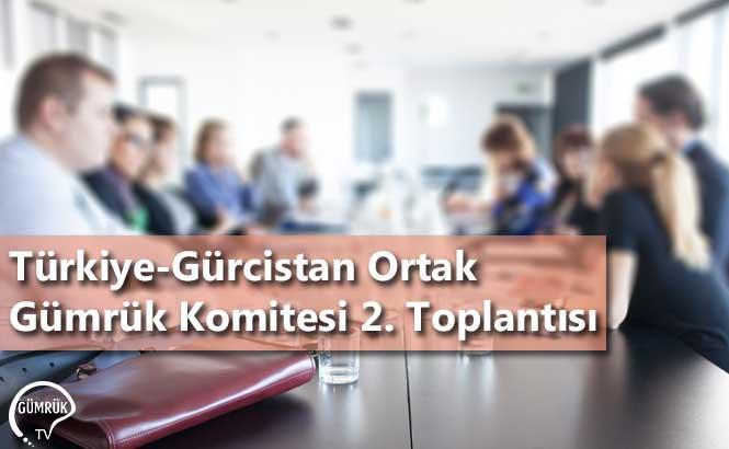 Türkiye-Gürcistan Ortak Gümrük Komitesi 2. Toplantısı
