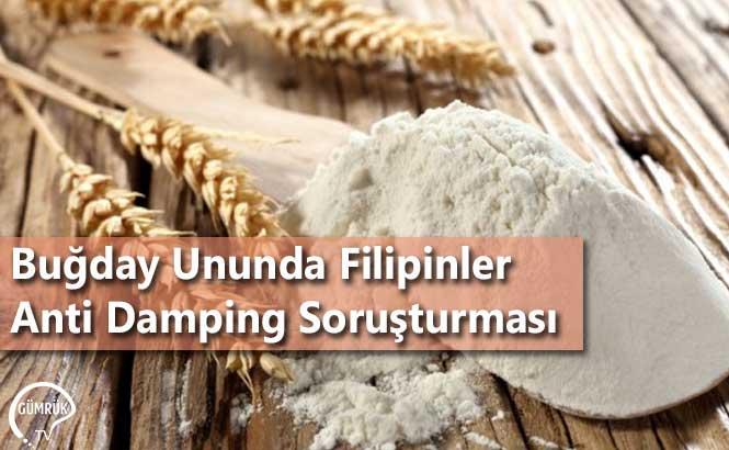 Buğday Ununda Filipinler Anti Damping Soruşturması